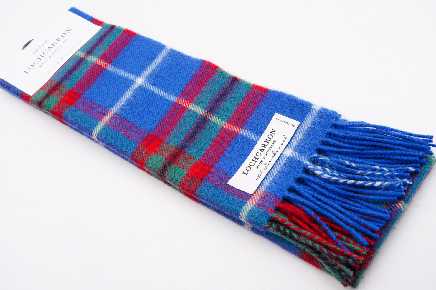 BRUSHWOOL LONG EDINBURGH SCARF - LOCHCARRON OF SCOTLAND