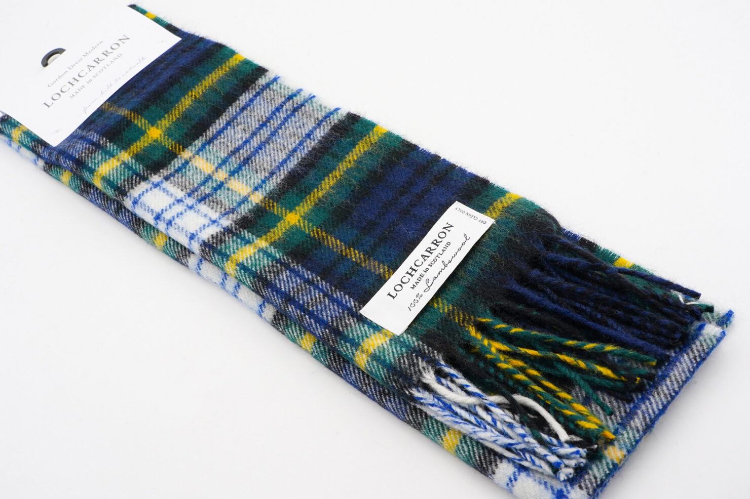 BRUSHWOOL LONG GOLDON DRESS SCARF - LOCHCARRON OF SCOTLAND