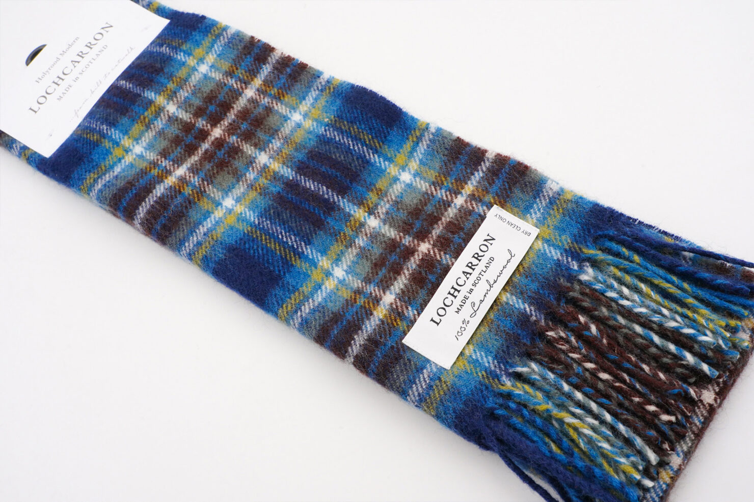 BRUSHWOOL LONG HOLYROOD SCARF - LOCHCARRON OF SCOTLAND