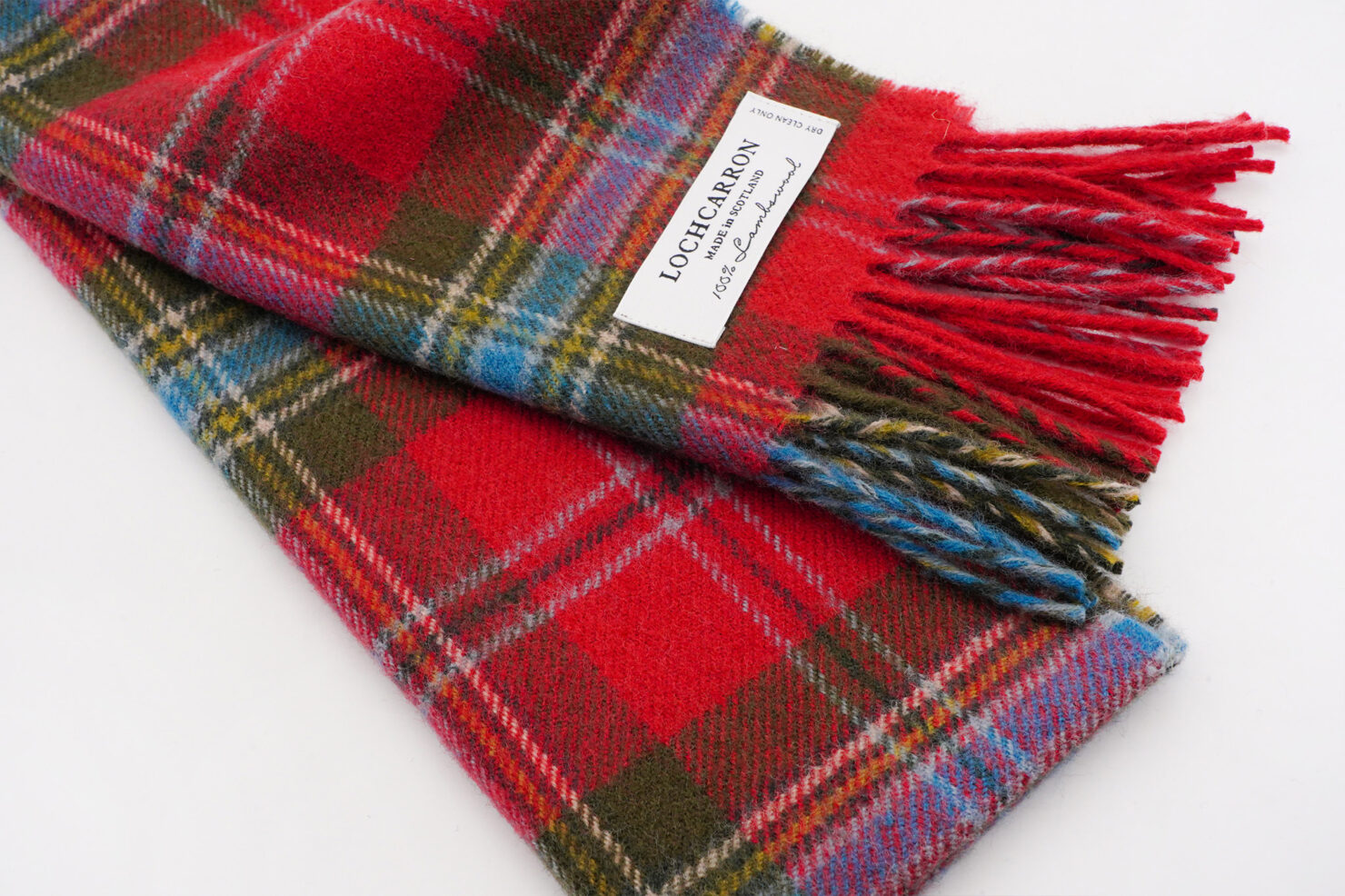 BRUSHWOOL LONG MACLEAN OF DUART SCARF - LOCHCARRON OF SCOTLAND
