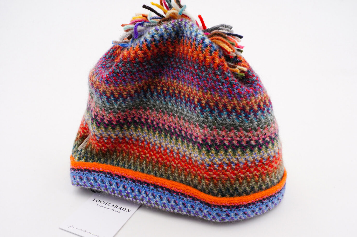 FAITH KNIT RACHEL HAT - LOCHCARRON OF SCOTLAND