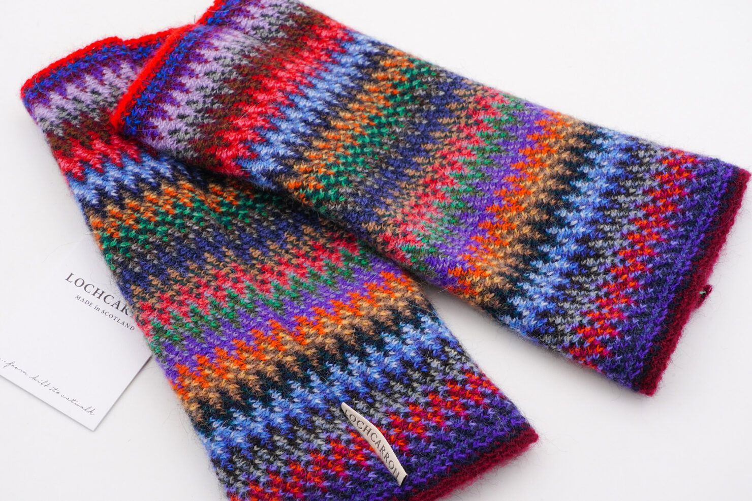 FAITH KNIT TROPIC GLOVES - LOCHCARRON OF SCOTLAND