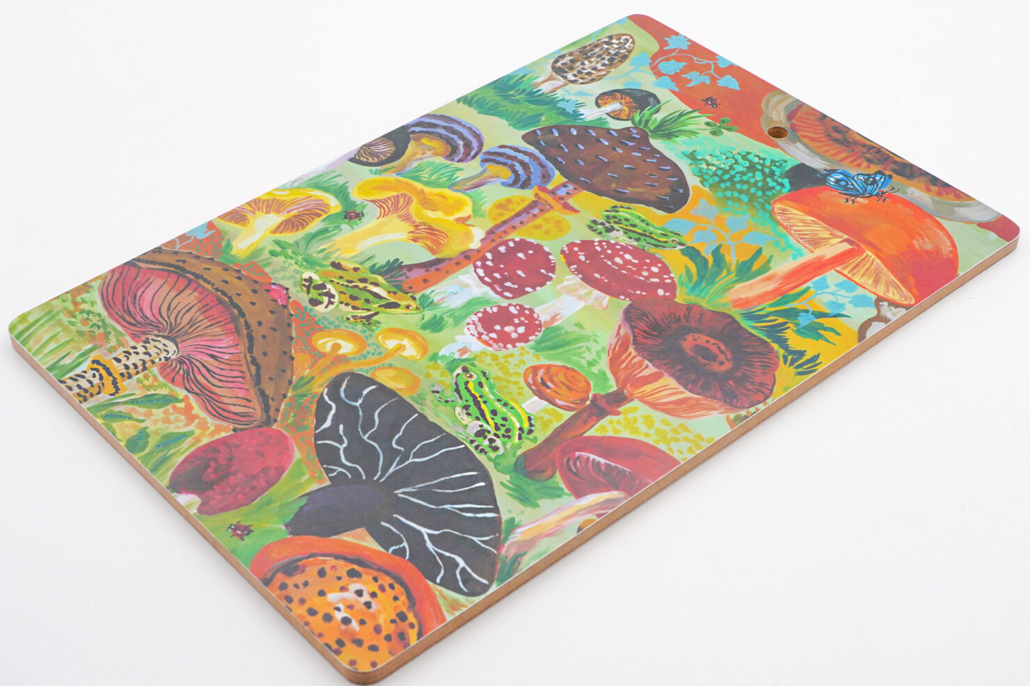 MUSHROOM FOREST CHOPPING BOARD BY NATHALIE LETE - AVENIDA HOME
