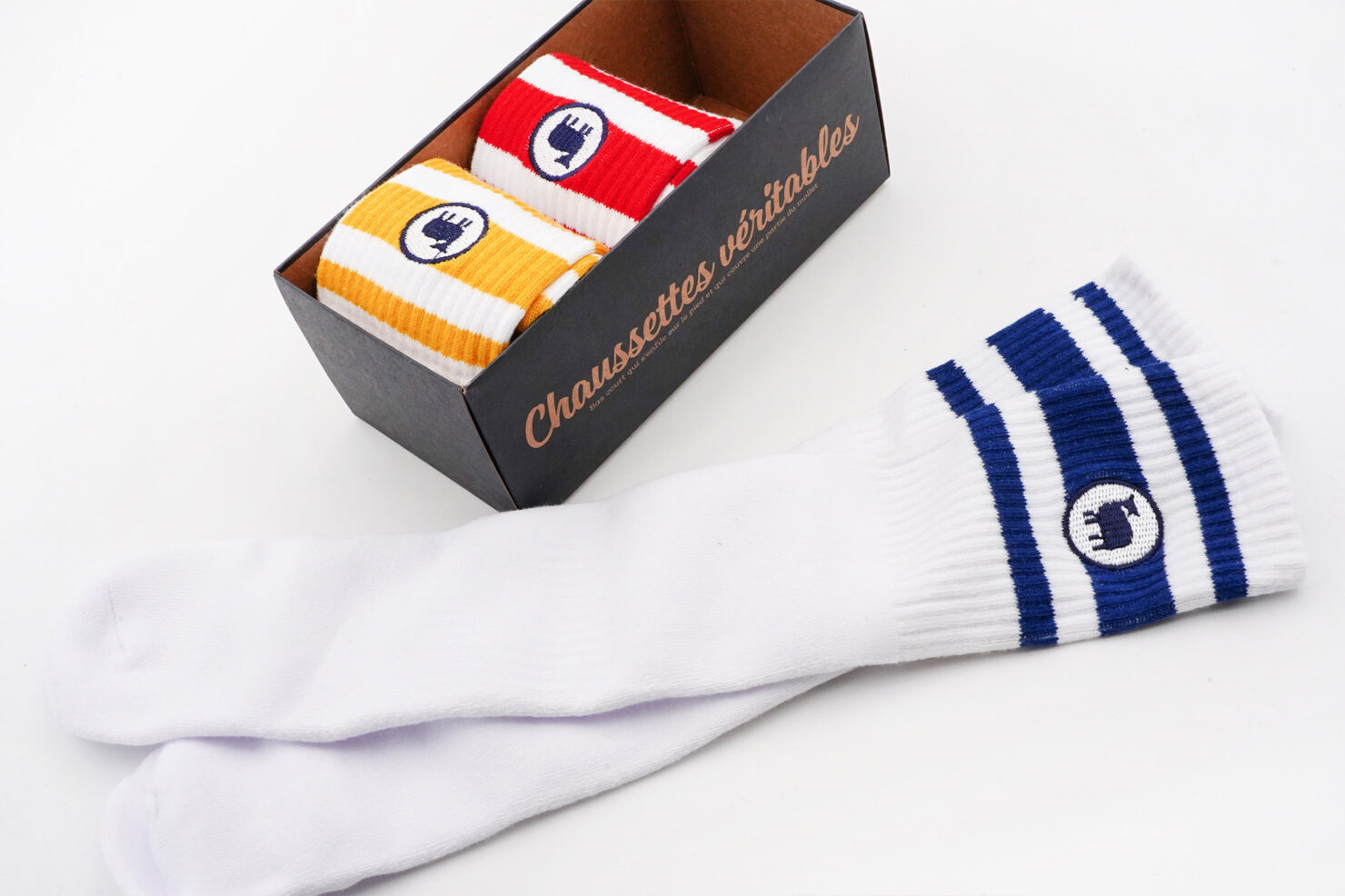 PACK OF 3 SOCKS - MAN SPORT - M. MOUSTACHE