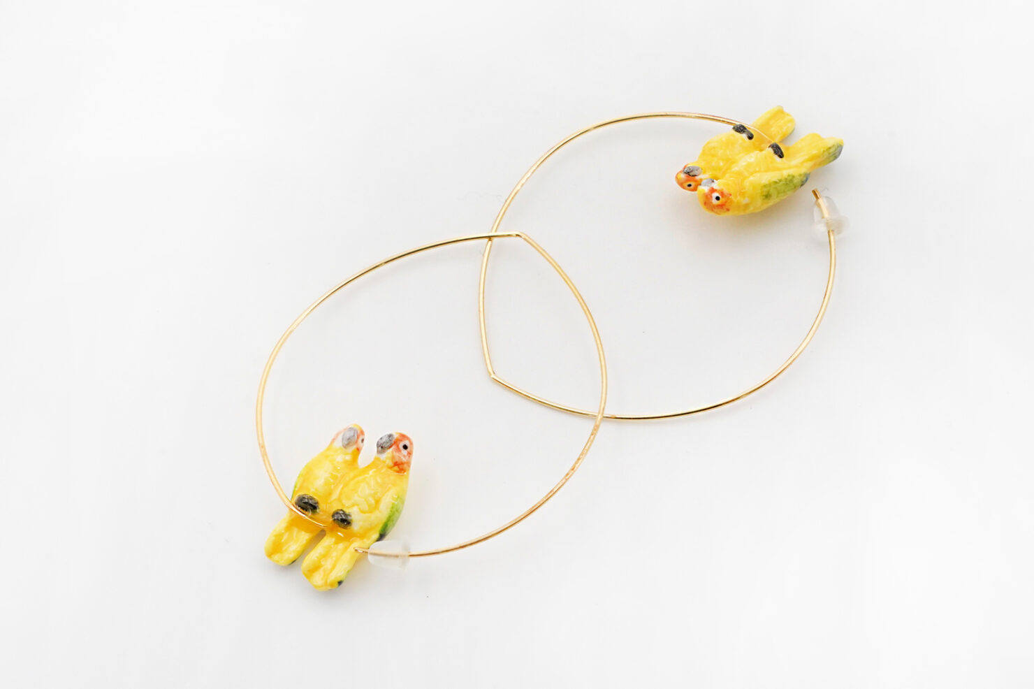 YELLOW COUPLE EARRINGS - NACH