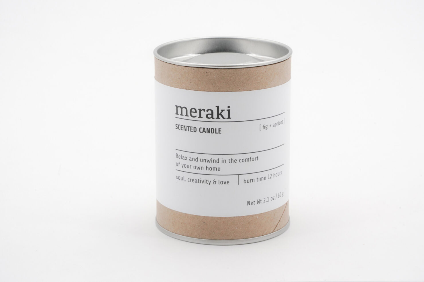 SCENTED CANDLE FIG & APRICOT - MERAKI